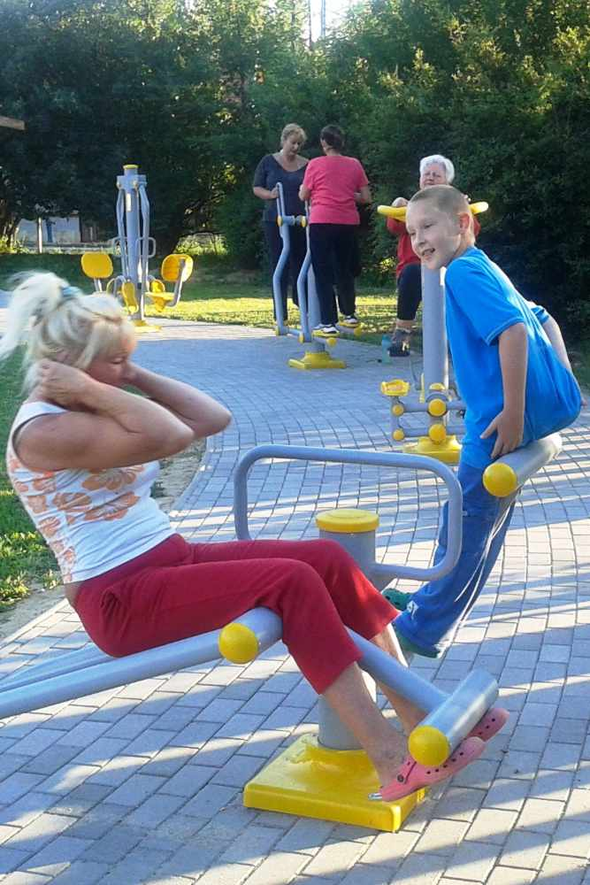Agrès Fitness